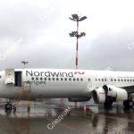 19.07.2019 Задымление Nordwind, Boeing 737-800 в Шереметьево