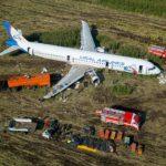 Утилизация A321 совершившего аварийное приземление на кукурузном поле