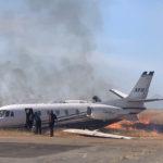 21.08.2019 Авария Cessna 560XL «Delta Private Jets» в Оровилл, США