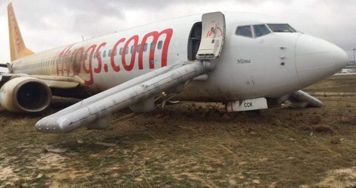 Самолет Boeing 737-800 авиакомпании Pegasus, выполнявший рейс 747, потерпел аварию после посадки на взлетно-посадочную полосу 06 в аэропорту Стамбула им. Сабихи Гёкчен.