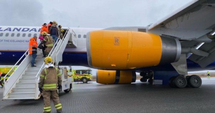 Boeing 757-200 авиакомпании Icelandair, выполнявшего рейс 529, произошло разрушение правой основной стойки шасси после посадки на взлетно-посадочной полосе 10 в Международном аэропорту Кефлавик, Исландия.
