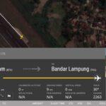 20.01.2020 Boeing 737 Lion Air выкатился в аэропорту города Бандар-Лампунг